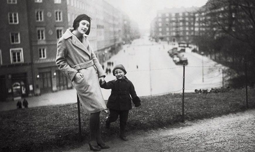 Astrid Lindgren de schrijfster van Pippi Langkous