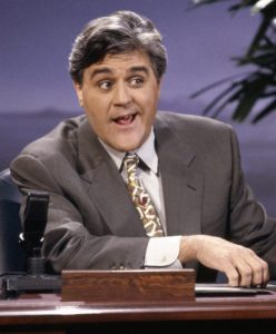 Jay Leno van The Tonight Show