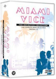 Miami Vice DVD Box