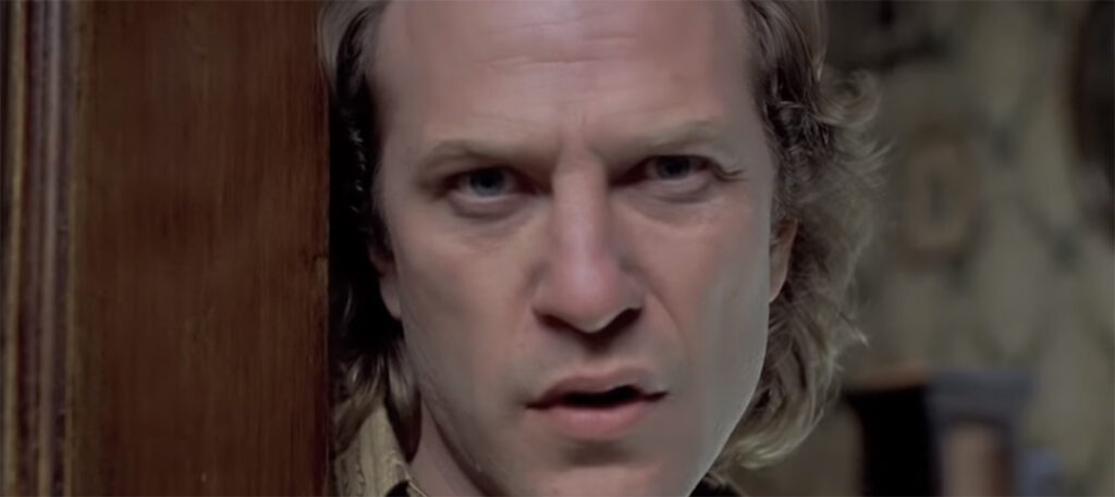 """Ted Levine als Jame """"Baffalo Bill"""" Gumb in Silence of the lambs"""