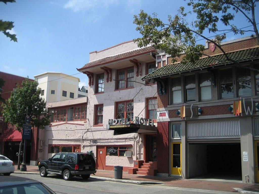 Hotel LeDale waar Ylenia voor het laatst gezien is